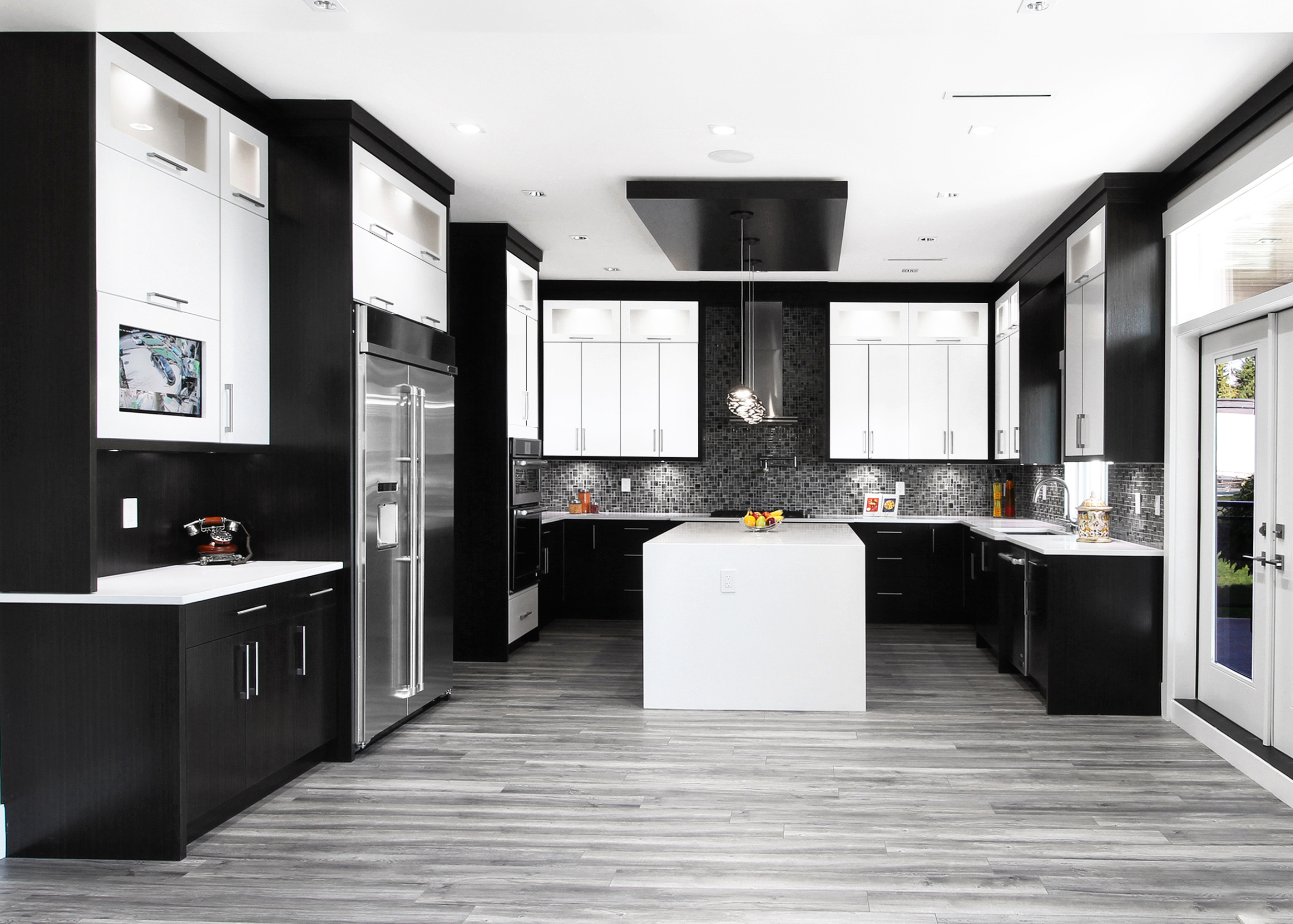 Art deco and modern fusion ultimate kitchens magazine Ultimate kitchens